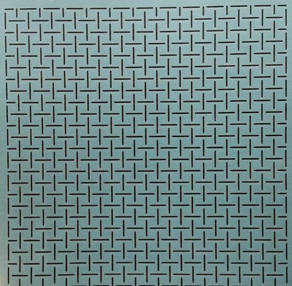 SCL-456 Quiltschablone Square Grid 1/2""